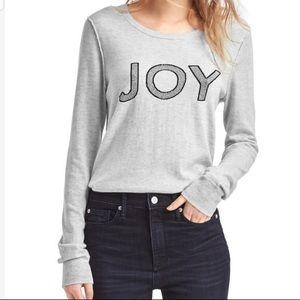 GAP Sweaters - Gap JOY gray merino wool blend crew neck sweater